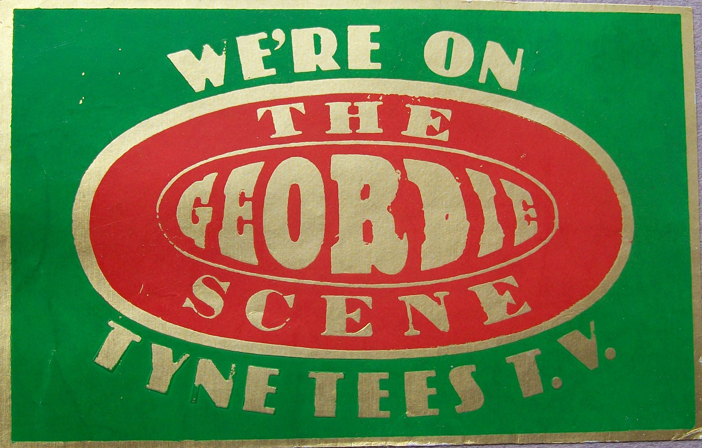 Geordie Scene sticker