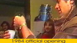 1984 official opening of Durham Street Studios by \'Marillion